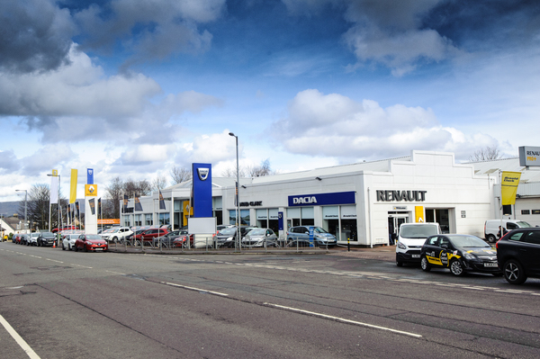 Dealer Details for Bishopbriggs Renault / Dacia