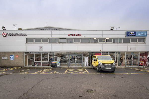 Dealer Details for Dundee Vauxhall Service Centre