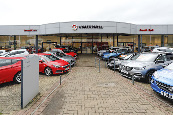 Dealer Details for Glasgow Vauxhall (North)