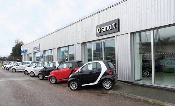 Dealer Details for smart of Inverness